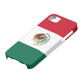 Bandera del caso del iPhone 5 de México iPhone 5 Fundas