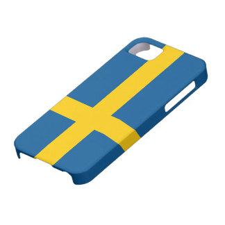 Bandera del caso del iPhone 5 de Suecia iPhone 5 Case-Mate Cárcasa