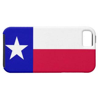 Bandera del caso del iPhone 5 de Tejas iPhone 5 Case-Mate Cárcasas