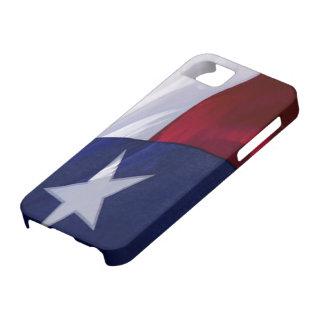 Bandera del caso del iPhone 5 de Tejas iPhone 5 Fundas