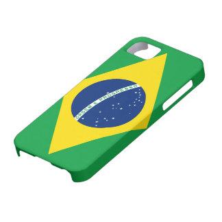 Bandera del caso del iPhone 5 del Brasil iPhone 5 Funda
