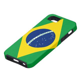 Bandera del caso del iPhone 5 del Brasil iPhone 5 Case-Mate Carcasas