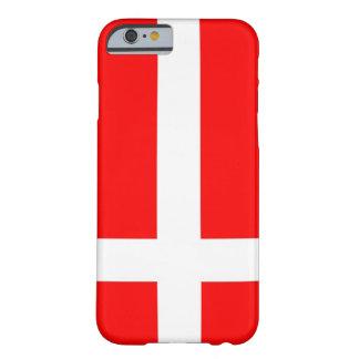 Bandera del caso del iPhone 6 de Dinamarca