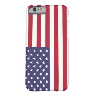 Bandera del caso del iPhone 6 de Estados Unidos