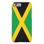 Bandera del caso del iPhone 6 de Jamaica Funda De iPhone 6 Barely There