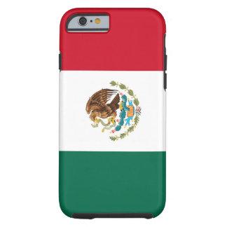Bandera del caso del iPhone 6 de México Funda De iPhone 6 Tough