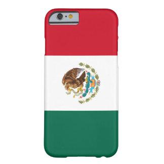 Bandera del caso del iPhone 6 de México Funda Para iPhone 6 Barely There