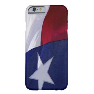 Bandera del caso del iPhone 6 de Tejas Funda De iPhone 6 Barely There