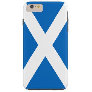 Bandera del caso duro del iPhone 6 de Escocia Funda De iPhone 6 Plus Tough