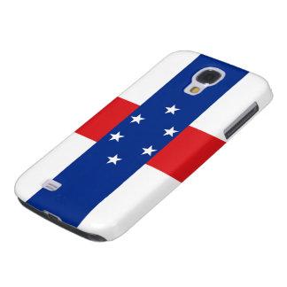 Bandera del caso duro vivo holandés de Antillas HT