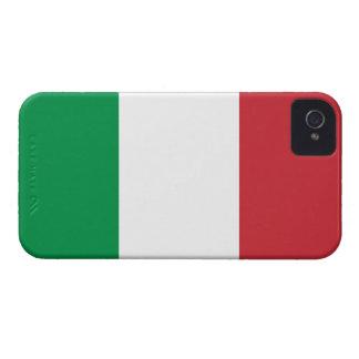 Bandera del caso intrépido de Italia Blackberry Case-Mate iPhone 4 Cobertura