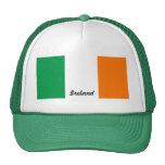 Bandera del casquillo de la malla de los camionero gorras de camionero