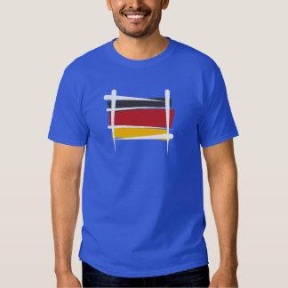 Bandera del cepillo de Alemania Camisas