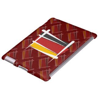 Bandera del cepillo de Alemania Funda Para iPad