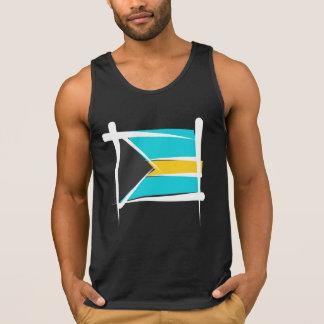 Bandera del cepillo de Bahamas Tops