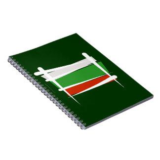 Bandera del cepillo de Bulgaria Libretas Espirales