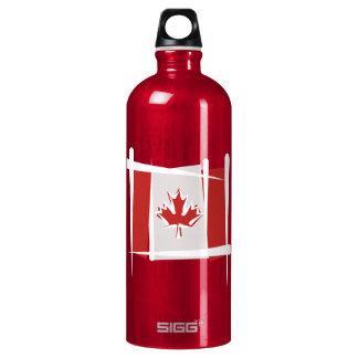 Bandera del cepillo de Canadá