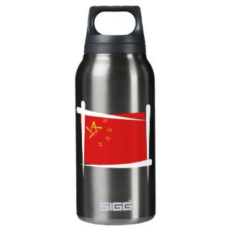 Bandera del cepillo de China
