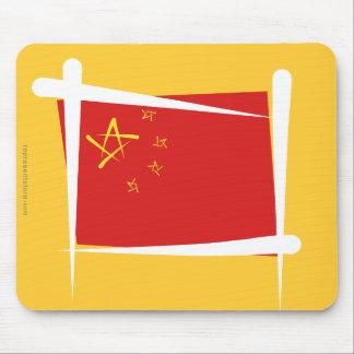 Bandera del cepillo de China Alfombrillas De Ratones