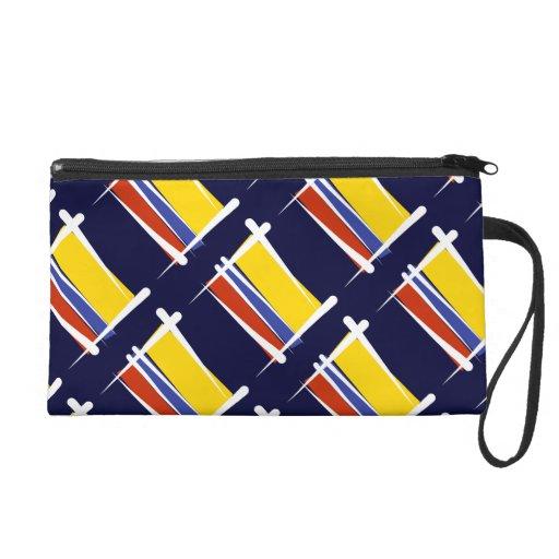 Bandera del cepillo de Colombia