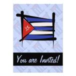 Bandera del cepillo de Cuba Comunicados