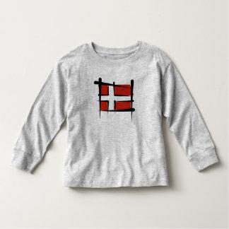Bandera del cepillo de Dinamarca Camisas