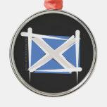 Bandera del cepillo de Escocia Adorno