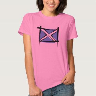 Bandera del cepillo de Escocia Camisas