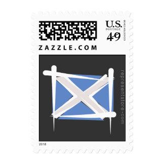 Bandera del cepillo de Escocia Sellos