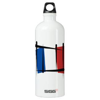 Bandera del cepillo de Francia