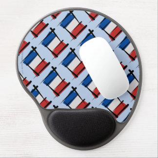 Bandera del cepillo de Francia Alfombrillas Con Gel