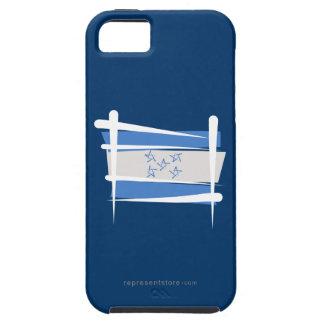 Bandera del cepillo de Honduras iPhone 5 Carcasas