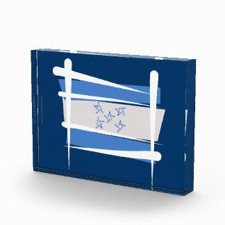 Bandera del cepillo de Honduras