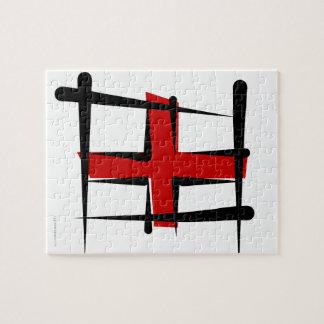 Bandera del cepillo de Inglaterra Rompecabeza
