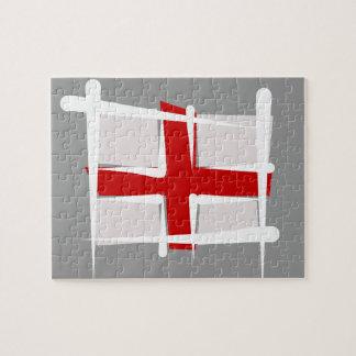 Bandera del cepillo de Inglaterra Rompecabezas