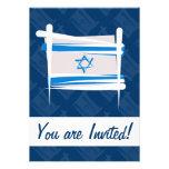Bandera del cepillo de Israel Comunicado