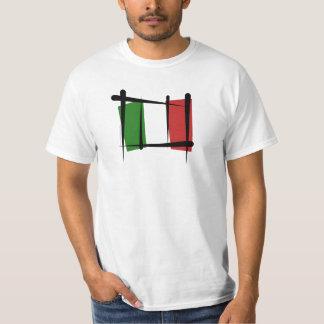 Bandera del cepillo de Italia Camisas