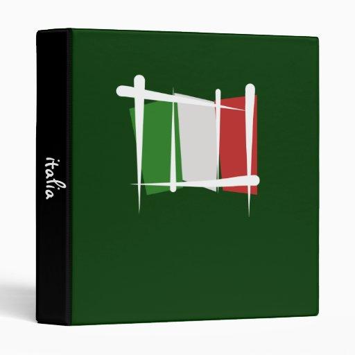 """Bandera del cepillo de Italia Carpeta 1"""""""