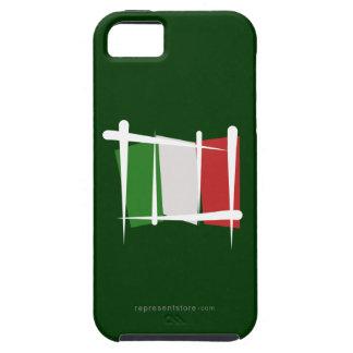 Bandera del cepillo de Italia Funda Para iPhone 5 Tough