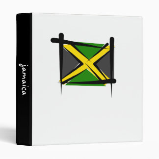"Bandera del cepillo de Jamaica Carpeta 1"""