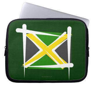 Bandera del cepillo de Jamaica Funda Portátil