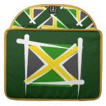 Bandera del cepillo de Jamaica Funda Para Macbook Pro