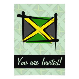 Bandera del cepillo de Jamaica Anuncios Personalizados
