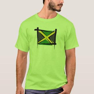 Bandera del cepillo de Jamaica Playera