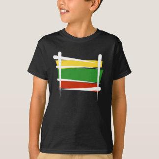 Bandera del cepillo de Lituania Playera