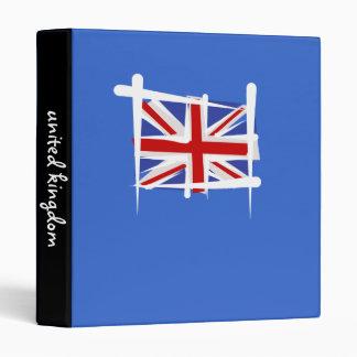 "Bandera del cepillo de Reino Unido Carpeta 1"""