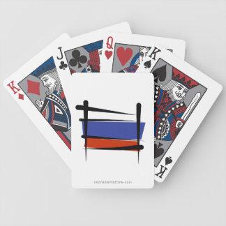 Bandera del cepillo de Rusia Barajas