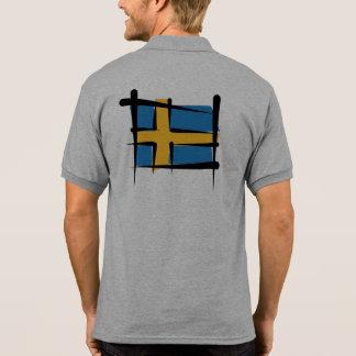 Bandera del cepillo de Suecia Polos