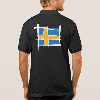 Bandera del cepillo de Suecia Polo