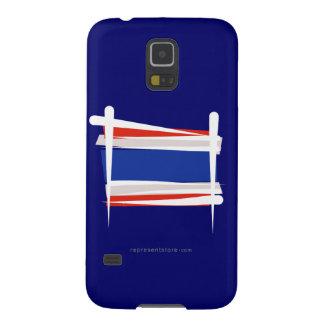 Bandera del cepillo de Tailandia Funda Galaxy S5